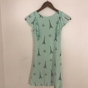 Girls Justice Teal Pairs Dress